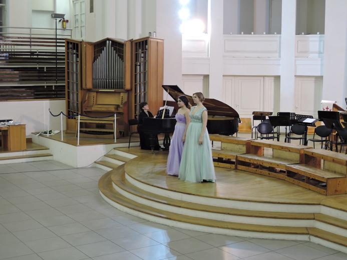 Конкурс исполнителей духовной музыки