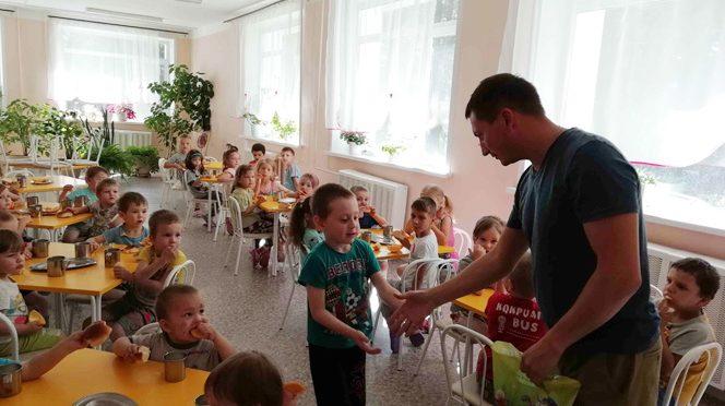 Служение в Новосибирске